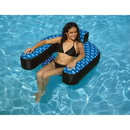 Swimline NT139 Fabric Covered Suspend Chair Pool Inflatable