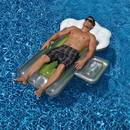 Swimline NT1765 Beer Mug 72-in Inflatable Pool Float w/ Mini Cooler