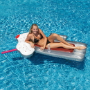Swimline NT1768 Root Beer Mug 74-in Inflatable Pool Float w/ Mini Cooler
