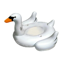 Blue Wave NT2672 Elegant Giant Swan 73-in Inflatable Ride-On Pool Float