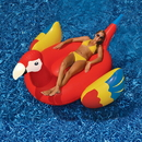 Swimline NT2674 Giant Parrot 93-in Inflatable Ride-On Pool Toy