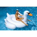 Swimline NT268 Giant Swan 75-in Inflatable Ride-On Pool Toy