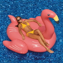 Swimline NT2750 Giant Pink Flamingo 78-in Inflatable Ride-On Pool Toy