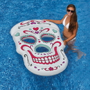 Swimline NT2754 Sugar Skull 62-in x 40-in Inflatable Pool Float