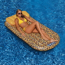 Swimline NT2859 Wildthings Cheetah Lounge 69-in x 35-in Floating Pool Mattress
