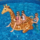 Swimline NT293 Giant Giraffe 96-in Inflatable Ride-On Pool Toy