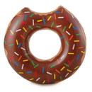 RhinoMaster Play NT6085 Gourmet Chocolate Doughnut - Inflatable Pool Tube