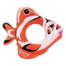 RhinoMaster Play NT6105 Adventurous Fish - Inflatable Pool Tube (Orange)
