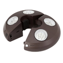Island Umbrella NU5505 4-Light Rechargeable LED Umbrella Light