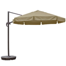 Island Umbrella NU6590 Freeport 11-ft Octagonal Cantilever Patio Umbrella in Terra Cotta Sunbrella Acrylic