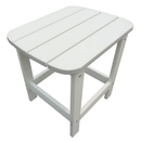 Island Retreat NU6796 Island Retreat Adirondack Outdoor Side Table - White
