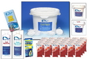 Blue Wave NY998 Chemical Package - 24-ft Round or Larger A/G Pools & All I/G Pools