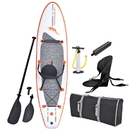 Blue Wave Sports RL3010 Stingray 10-ft Inflatable Stand Up Paddleboard w/ Paddle & Hand Pump