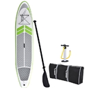 Blue Wave Sports RL3012 Manta Ray 12-ft Inflatable Stand Up Paddleboard w/ Hand Pump