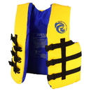 RhinoMaster RL4003-YL Youth Life Vest for Watersports (Yellow) - USCG Approved Type III