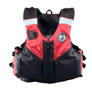 RhinoMaster RL4004-RD Adult Life Vest for Watersports (Red) - USCG Approved Type III