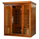 Heatwave SA1315 Cedar Elite 3-4 Person Premium Sauna w/ 9 Carbon Heaters - 3-4
