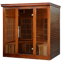 Heatwave SA1322 Cedar Elite 4-5 Person Premium Sauna w/ 9 Carbon Heaters