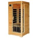 HeatWave SA2402 Buena Vista 1-2 Person Hemlock Infrared Sauna w/ 4 Carbon Heaters - 1