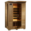 HeatWave SA2409 Coronado 2-Person Hemlock Deluxe Infrared Sauna w/ 6 Carbon Heaters