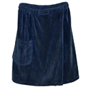 Radiant Saunas SA5327 Men's Spa & Bath Terry Cloth Towel Wrap - Navy Blue