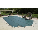 Arctic Armor WS347Y Grey 12-Year Mesh Safety Cover For 16' x 36' Pool With Center End Step