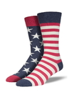 Socksmith Men's Flag Socks