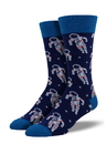 Socksmith Men's Astronaut Socks, Navy