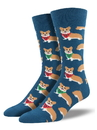 Socksmith Men's Corgi Socks