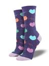 Socksmith Time To Unwind Socks, Purple