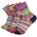 TOPTIE 10 Pairs Womens Wool Winter Soft Warm Thick Knit Cozy Crew Socks