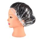 Aspire 100 PCS Disposable Shower Caps Waterproof Elastic Bath Cap Plastic Hair Cover Home Hotel Spa