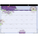 At-A-Glance Paper Flowers Monthly Desk Pad, AAG5035