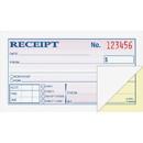 Adams Wire Bound Money/Rent Receipt Books, 50 Sheet(s) - Tape Bound - 2 Part - 2.75