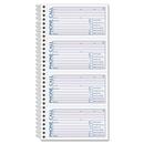 Adams Spiral Bound Phone Message Books, 600 Sheet(s) - Spiral Bound - 2 Part - 11