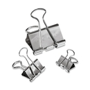Acco Steel Presentation Clips, Assorted - 30 / Pack - Silver