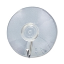 Acco Suction Cup with Hook, 1 Hook - 1.75