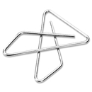 Acco Ideal Butterfly Clamp, Large - 144 / Box - Silver