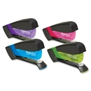 PaperPro Spring-Powered Assorted Colors Compact Stapler, 15 Sheets Capacity - Assorted