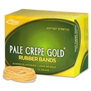 Pale Crepe Gold Rubber Band, Size: #16 - 2.50