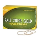 Pale Crepe Gold Rubber Band, Size: #19 - 3.50