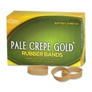 Pale Crepe Gold Rubber Band, Size: #82 - 2.50