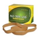 Pale Crepe Gold Rubber Band, Size: #107 - 7