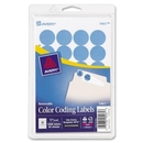 Avery Custom Print Round Color-Coding Labels, 0.75