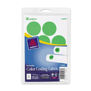 Avery Round Color Coding Multipurpose Label, 1.25