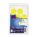 Avery Round Color Coding Label, 1.25