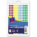 Avery See Through Round Color Coding Label, 0.25