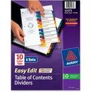 Avery Easy Edit Index Divider