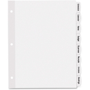Avery Big Tab White Label Tab Dividers, AVE14433