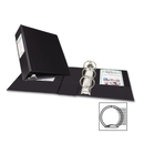Avery Round Ring Binder With Label Holder, 2